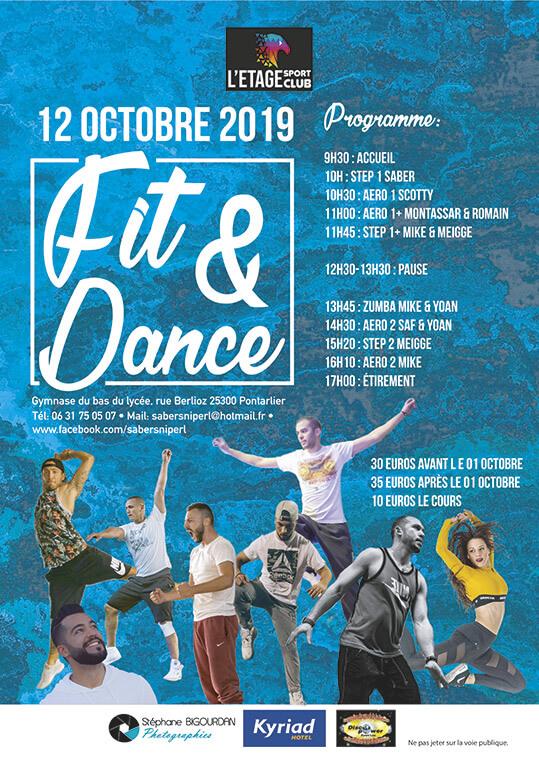 Événement sportif Dance Fit Octobre 2019 Pontarlier