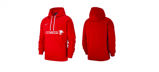 Sweat A Capuche Nike Team Club Rouge