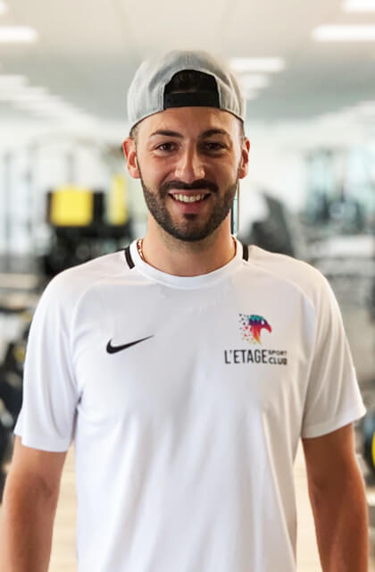 Yoan Yousfi Coach Sportif Étage Sport Club Pontarlier