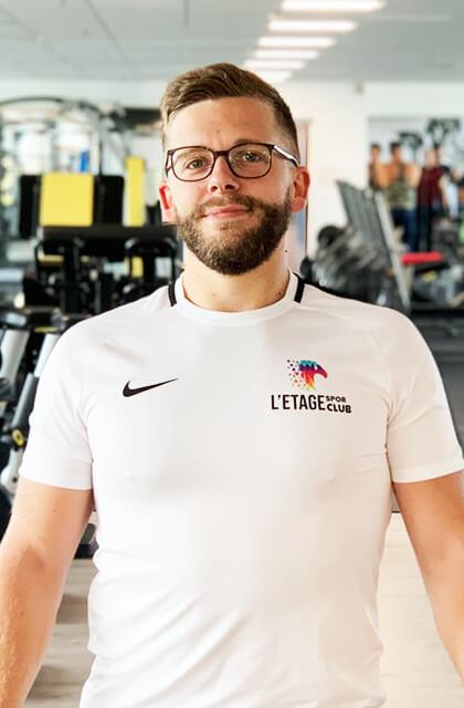 Elyott Gaume Coach Etage Sport Club