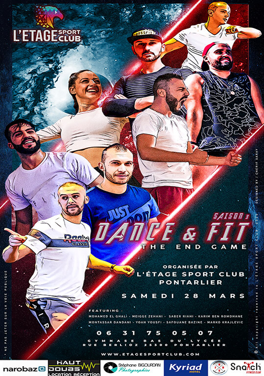 Evenement Sportif Dance Fit Mars 2020 Pontarlier