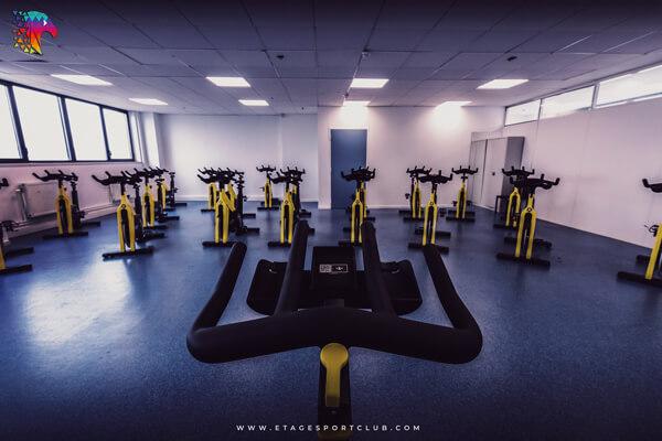 Salle de Sport cours de biking vélo Pontarlier
