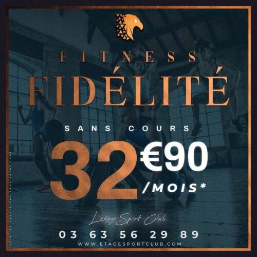 Fitness Fidélité Sans Cours, Abonnement salle de sport Pontarlier Étage Sport Club