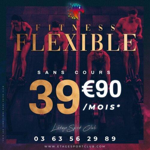 Fitness Flexible Sans Cours, Abonnement salle de sport Pontarlier Étage Sport Club