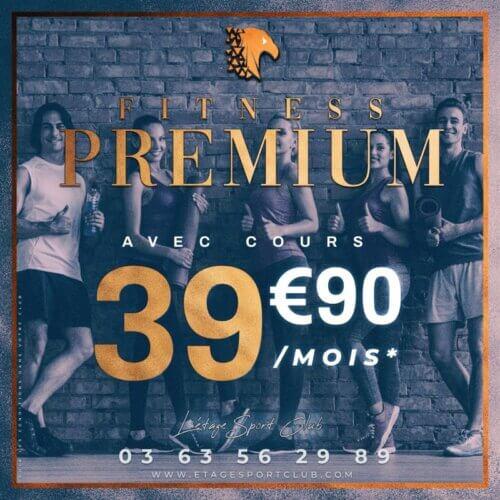 Fitness Premium Avec Cours, Abonnement salle de sport Pontarlier Étage Sport Club