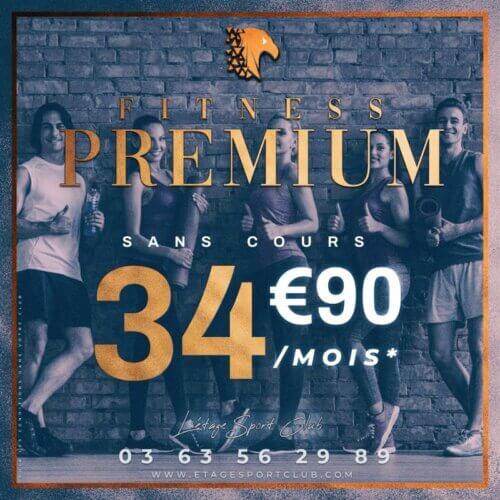 Fitness Premium Sans Cours, Abonnement salle de sport Pontarlier Étage Sport Club